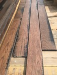 Large lot of new wood flooring three-quarter inch by 5 inch this lot contains 26 cases each case has 22.5 ft.²