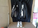 Tupac Coat XL and Size 10 1/2 Makavel Branded Shoes