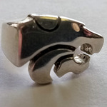 Kansas State University Wildcat Ring ~ Size 8 Powercat Marked Sterling!
