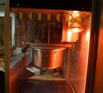 Commercial Popcorn Machine  - Works!!