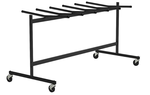 Heavy Duty Rolling Folding Chair Trolley - Holds up to 42 Folding Chairs