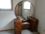 Antique 5 drawer vanity.