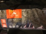 never been  used eight person tent