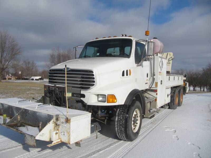 2006 STERLING L 9500 - WITH N-85 CRANE TRUCK- Heavy Spec. - FULL LOCKING REARS