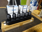 6 New Retevis walkie-talkies w/ 6 bank charger- All new in boxes!