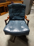 Very nice high end leather executive chair on wheels