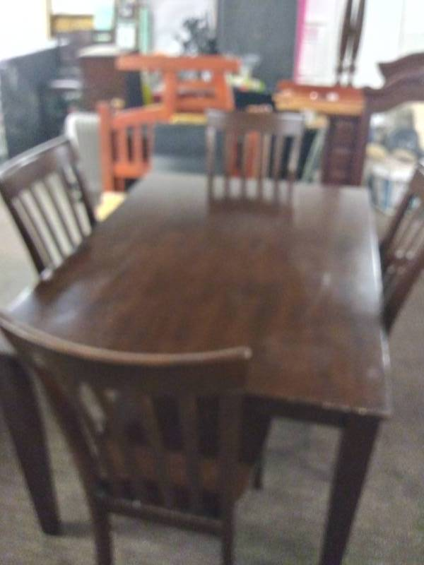 Nice Dining Room Table and 4 Chairs | Nice 6 Piece Sectional ...