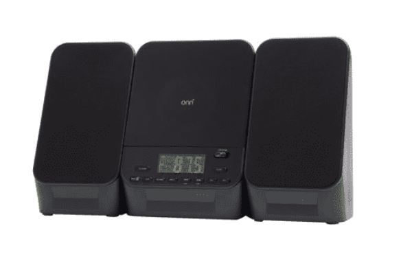 Onn Home Music 5-Watt Mini Bluetooth CD Stereo System