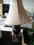 Decorative table lamp.