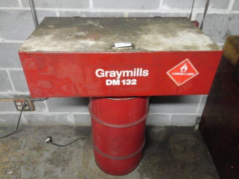 Gramills DM132 Recirculating Parts Cleaner