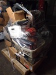 Pallet Of Used Car Parts And Accessories