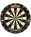 Eclipse Hd2 Unicorn Dartboard High Visibility Numbers Ultra Slim Wires, Box Damage, New