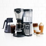 Ninja CF080 Coffee Bar Auto-iQ Brewer with Glass Carafe