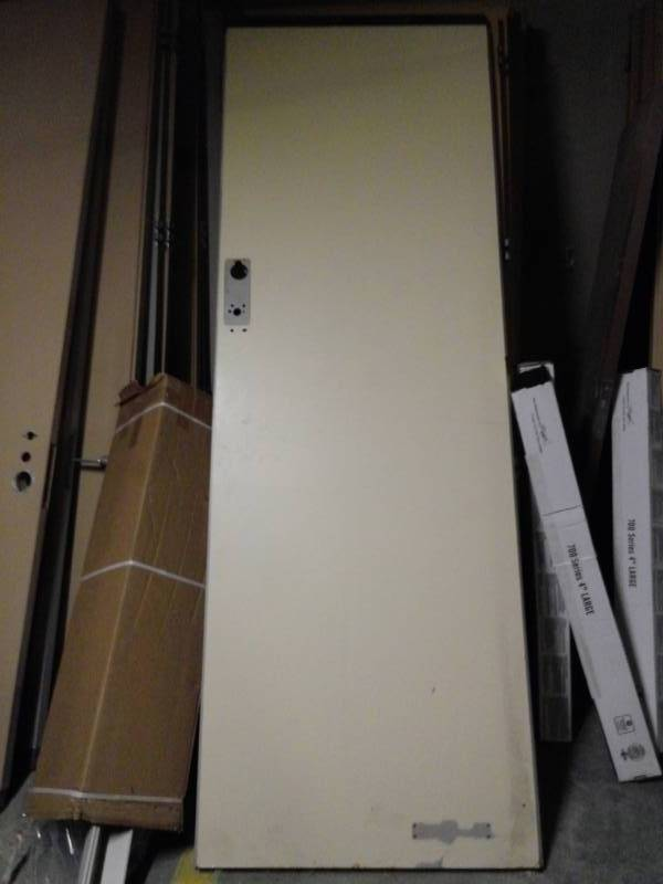 Pick (1) Steel Oversized Office Door FCFS