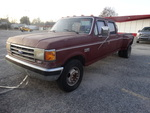 1989 Ford F-350 1 ton extended cab truck