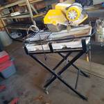 professional tile saw - model 60010 - 2 Hp - with stand