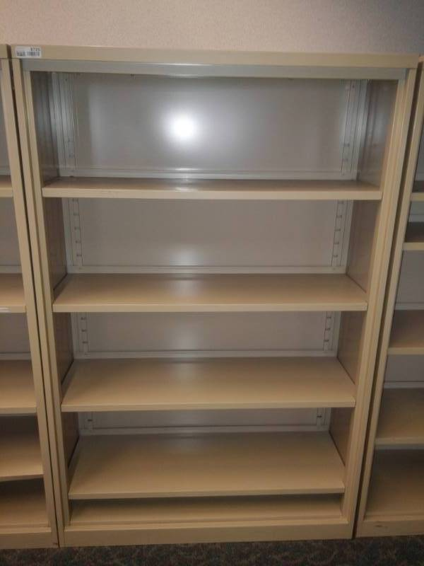 Metal Full Height Bookcase