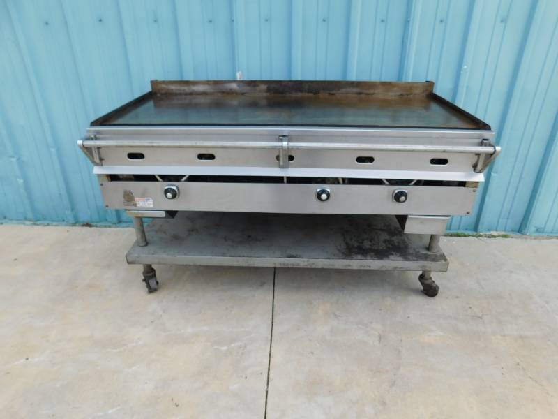 5 Foot Wolf Flat Top Grill