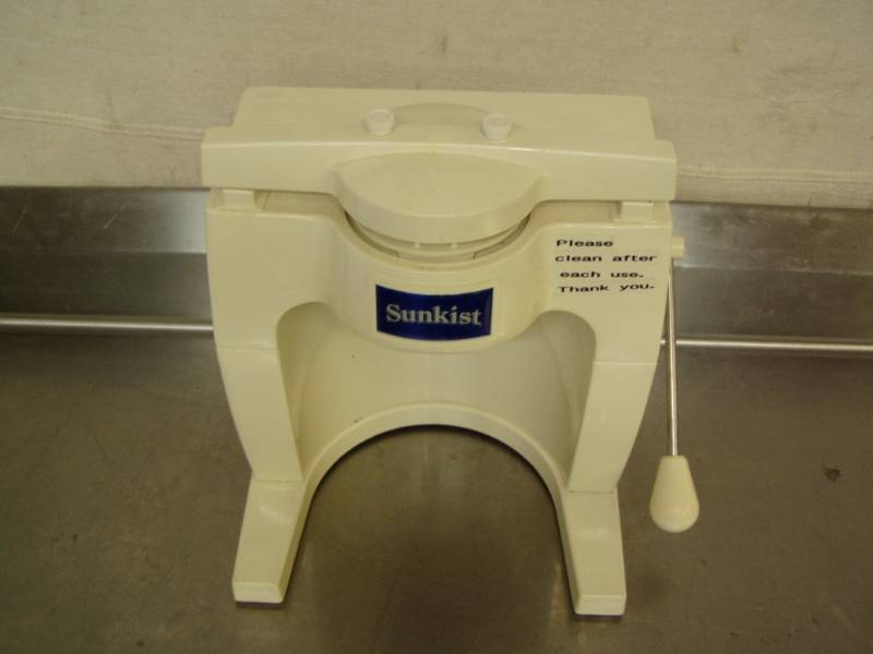 Sunkist Commercial Sectionizer