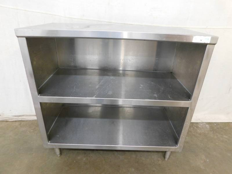 3 Foot 3 Tier Stainless Steel Cabinet