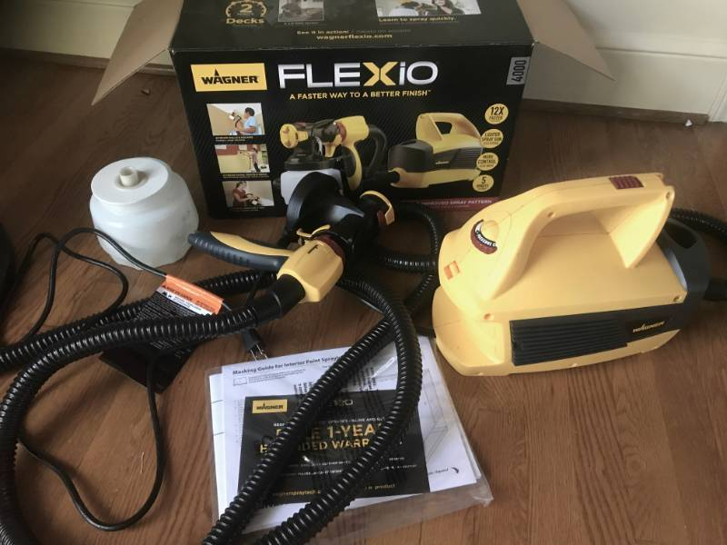 Wagner FleXio Spray Painter with all parts and box