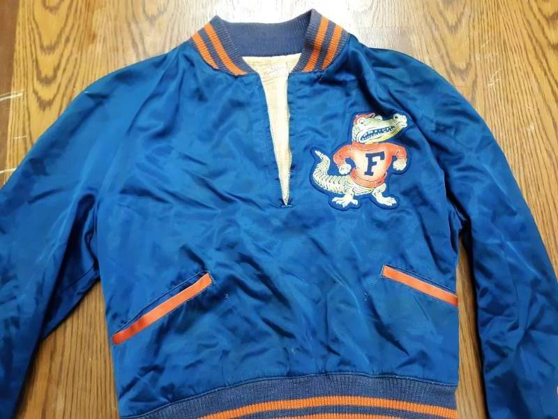 Florida Satin Letterman's Jacket