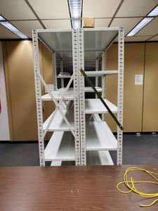 Lot of HD Metal Shelving