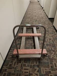 Lateral Metal Furniture Moving Dolly