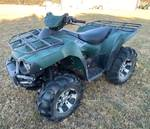 2007 Kawasaki 4 Wheel Drive V-Twin 650 Brute Force 4 Wheeler with Clean Title