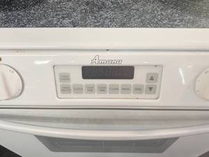 Amana Ceramic Top Stove - works