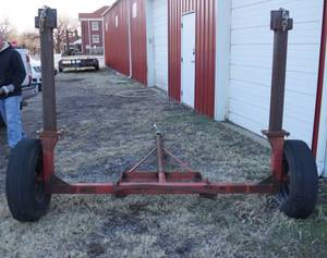 Industrial Hose Reel Trailer - Bill of Sale Only