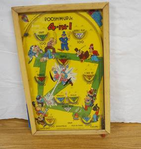 Vintage Table Top Pinball Game - Very Cool!!!!!