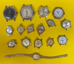 Old Estate Watch Collection