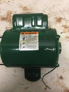 1/2 HP Agricultural Fan Motor,Permanent Split Capacitor,1700 Nameplate RPM,115/230 Voltage