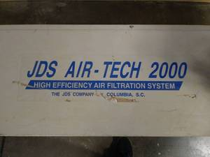 JDS Company industrial air filtration appliance