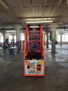 Slam-N-Jam Pop-A-Shot Machine Fully Functioning