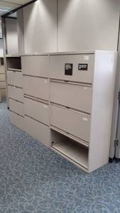 Lateral Filing Cabinets Lot of 3