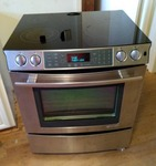 electric slide-in jenn air range stove oven just in time for Christmas