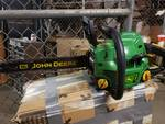 "John Deere 16"" Chainsaw with Case. J3816"
