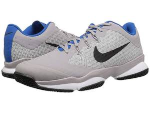 Nike Air Zoom Ultra (Atmosphere Grey/Black/White/Blue Nebula) Men's Tennis Shoes