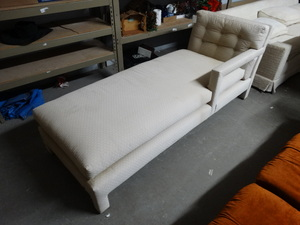 Custom Built Chaise Lounge By Carl Kisabeth Company