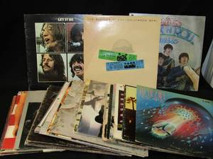 24 Classic LP's / Vinyl Albums ~ Led Zeppelin, Eagles, Beatles, Springsteen & More!