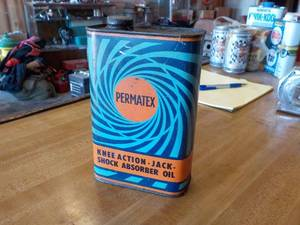 Permatex oil can