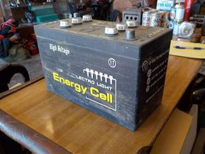 vintage sears store display battery