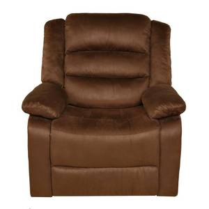2pc Relaxzen Rocker Recliner With Heat Massage Usb Microfiber Brown