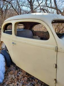 1937 Plymouth 2 Door Sedan Humpback/Project