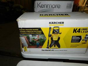 Karcher K4 1900 PSI Pressure washer