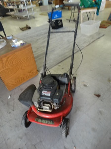 Commercial Robin gas mower
