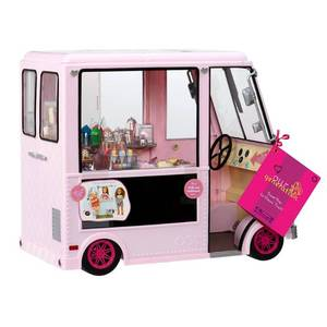 Our Generation 44718  sweet Stop  Ice Cream Truck For Dolls