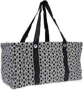 Wireframe All Purpose Large Utility Bag (Black Twist)